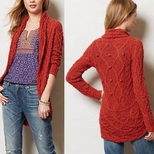 Anthro | Knitted & Knotted Gemma Circle Cardigan